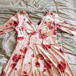 Bebop Velvet Dress